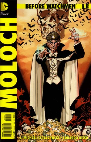 Before Watchmen Moloch #1 Incentive Matt Wagner Variant Cover