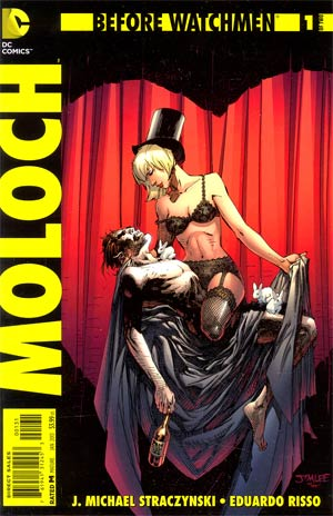 Before Watchmen Moloch #1 Incentive Jim Lee Variant Cover