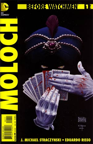 Before Watchmen Moloch #1 Regular Eduardo Risso Cover