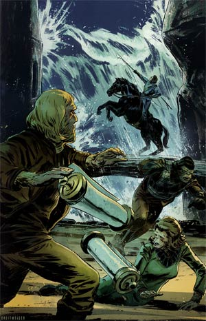 Planet Of The Apes Cataclysm #3 Incentive Mitch Breitweiser Virgin Variant Cover