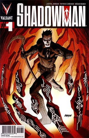 Shadowman Vol 4 #1 Incentive Dave Johnson Variant Cover