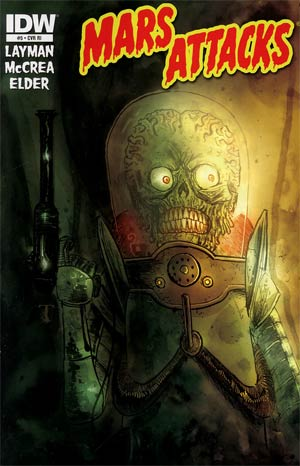 Mars Attacks Vol 3 #5 Incentive Ben Templesmith Variant Cover