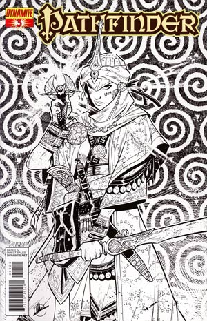 Pathfinder #3 Incentive Matteo Scalera Black & White Cover
