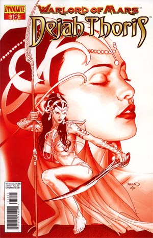 Warlord Of Mars Dejah Thoris #18 Incentive Paul Renaud Martian Red Cover