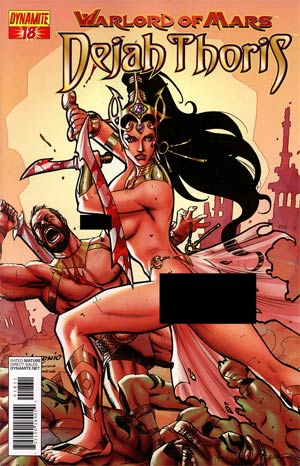 Warlord Of Mars Dejah Thoris #18 Incentive Lui Antonio Risque Variant Cover