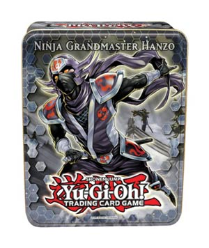 Yu-Gi-Oh 2012 Collectible Tin Case Wave 2 - Ninja Grandmaster Hanzo