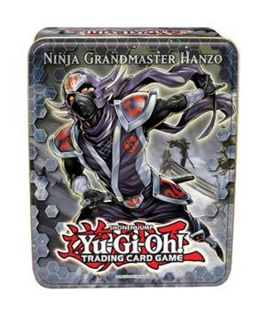 Yu-Gi-Oh 2012 Collectible Tin Case Wave 2 - Ninja Grandmaster Hanzo