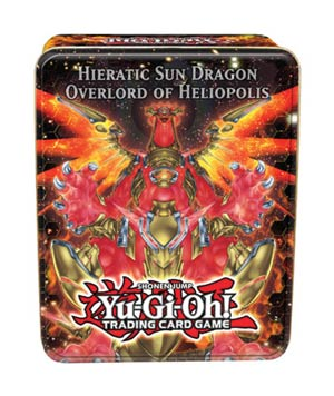 Yu-Gi-Oh 2012 Collectible Tin Case Wave 2 - Sun Dragon Overlord Of Heliopolis