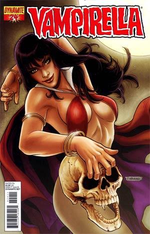 Vampirella Vol 4 #24 Regular Fabiano Neves Cover