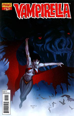 Vampirella Vol 4 #24 Regular Paul Renaud Cover