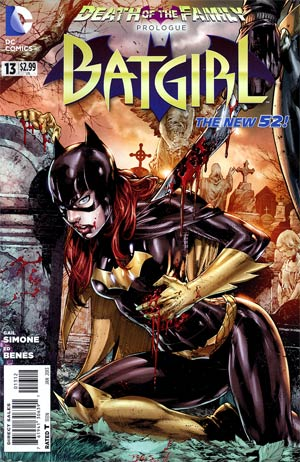 Batgirl Vol 4 #13 Cover B 2nd Ptg (Death Of The Family Prelude)