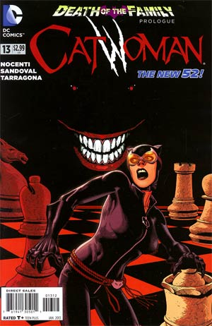 Catwoman Vol 4 #13 2nd Ptg (Death Of The Family Prelude)