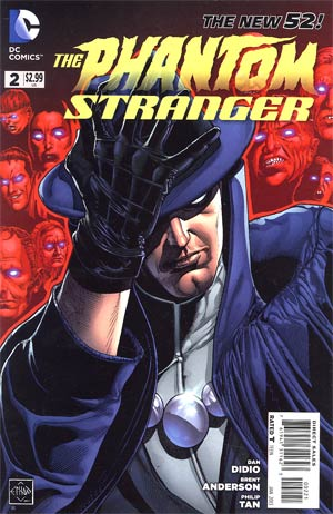 Phantom Stranger Vol 4 #2 Incentive Ethan Van Sciver Variant Cover