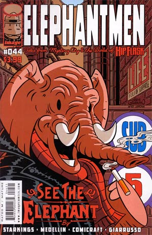 Elephantmen #44 Variant Chris Giarrusso Cover