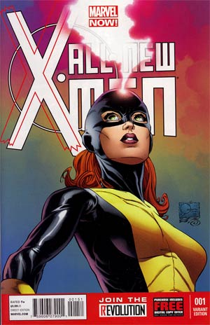 All-New X-Men #1 Incentive Joe Quesada Variant Cover