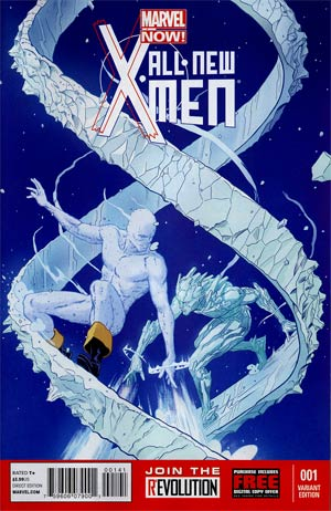 All-New X-Men #1 Cover B Incentive Variant Cover