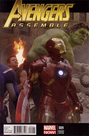 Avengers Assemble #9 Incentive Movie Variant Cover