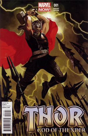 Thor God Of Thunder #1 Incentive Daniel Acuna Variant Cover