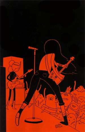 Adventure Time Marceline And The Scream Queens #5 Incentive James Hindle Virgin Variant Cover