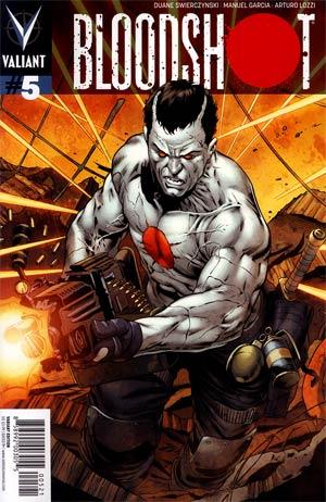 Bloodshot Vol 3 #5 Incentive Manuel Garcia Variant Cover