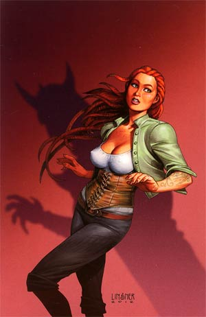 Damsels #3 Incentive Joseph Michael Linsner Virgin Cover