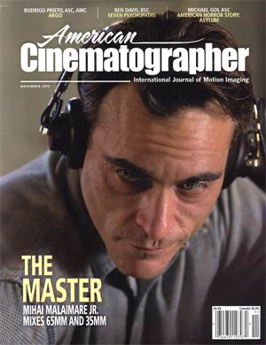 American Cinematographer Vol 93 #11 Nov 2012