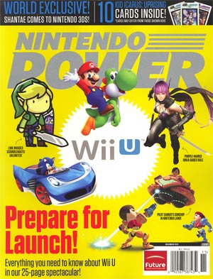 Nintendo Power #284 Nov 2012
