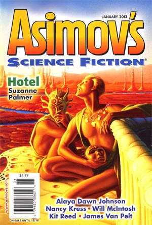 Asimovs Science Fiction Vol 37 #1 Jan 2013