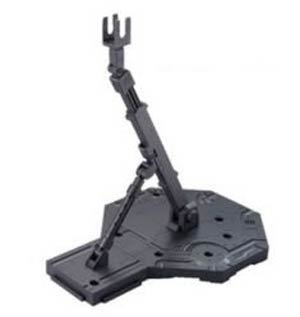 Gundam Model Kit Action Figure Display Stand High Grade 1/144 & Master Grade 1/100 Scale - Action Base 1 Gray