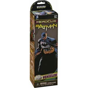 DC HeroClix Batman Regular Booster Pack