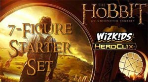 Hobbit An Unexpected Journey HeroClix Campaign Starter Set
