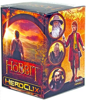 Hobbit An Unexpected Journey HeroClix Single Booster Pack