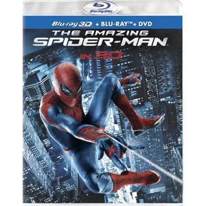 Amazing Spider-Man Blu-ray Combo 3D DVD