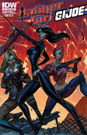 Danger Girl GI Joe #4 Regular Cover A