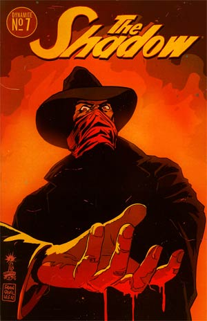 Shadow Vol 5 #7 Regular Francesco Francavilla Cover