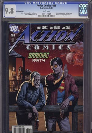 Action Comics #869 Recall Version CGC 9.8