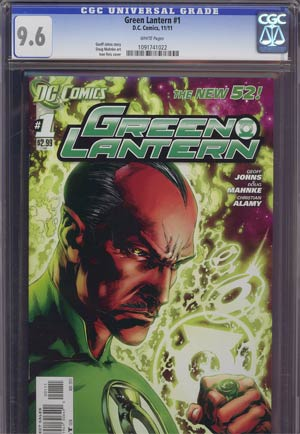 Green Lantern Vol 5 #1 1st Ptg Regular Ivan Reis Cover CGC 9.6