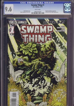 Swamp Thing Vol 5 #1 1st Ptg CGC 9.6