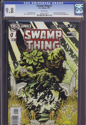 Swamp Thing Vol 5 #1 1st Ptg CGC 9.8