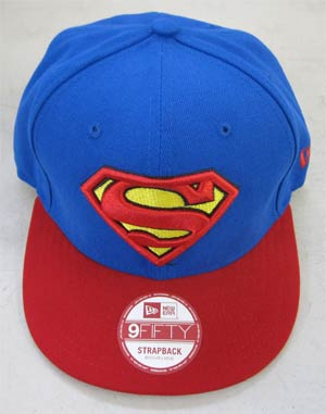 Superman Basic Strap Official Snap Back Cap M/L