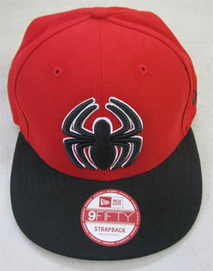 Spider-Man Basic Strap Official Snap Back Cap M/L