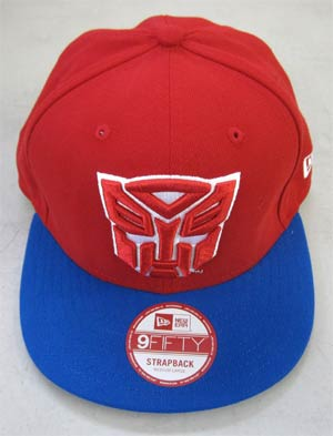 Transformers Autobots Basic Strap Official Snap Back Cap M/L