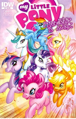 My Little Pony Friendship Is Magic #3 Incentive J Scott Campbell Variant Cover