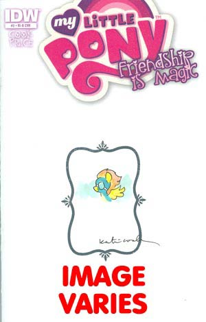 My Little Pony Friendship Is Magic #2 Incentive Katie Cook Hand Drawn Variant Cover (Please note: each cover is unique. Sorry - no requests)