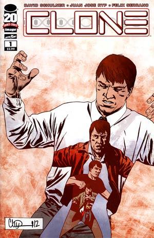 Clone #1 Variant Charlie Adlard Cover