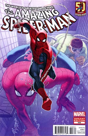 Amazing Spider-Man Vol 2 #698 Cover B Incentive Amazing Spider-Man 50th Anniversary Variant Cover