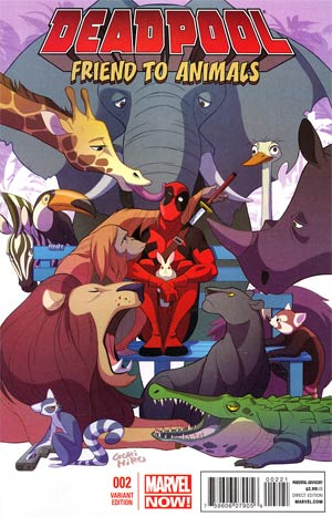 Deadpool Vol 4 #2 Incentive Gurihiru Variant Cover