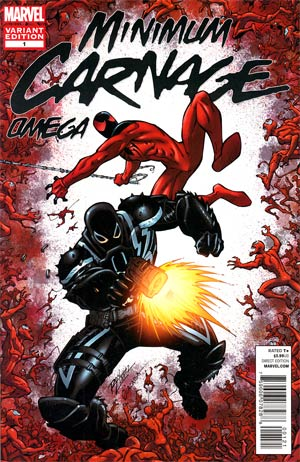 Minimum Carnage Omega #1 Incentive Ron Lim Variant Cover (Minimum Carnage Part 6)
