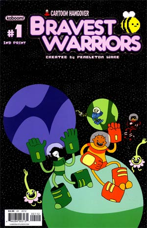 Bravest Warriors #1 2nd Ptg