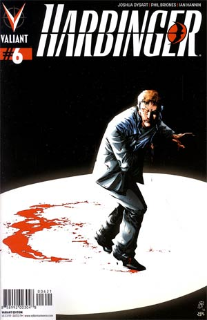 Harbinger Vol 2 #6 Incentive Matthew Clark Variant Cover